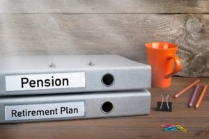 Pension plan in a divorce