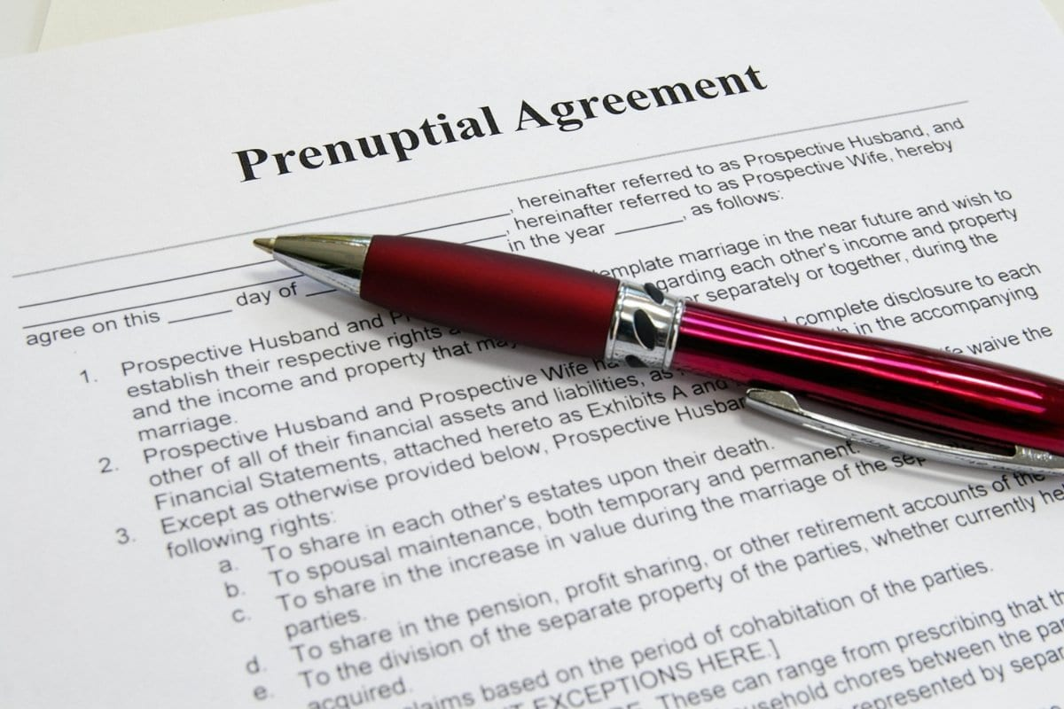 Considering A Prenuptial Agreement Before Your Colorado